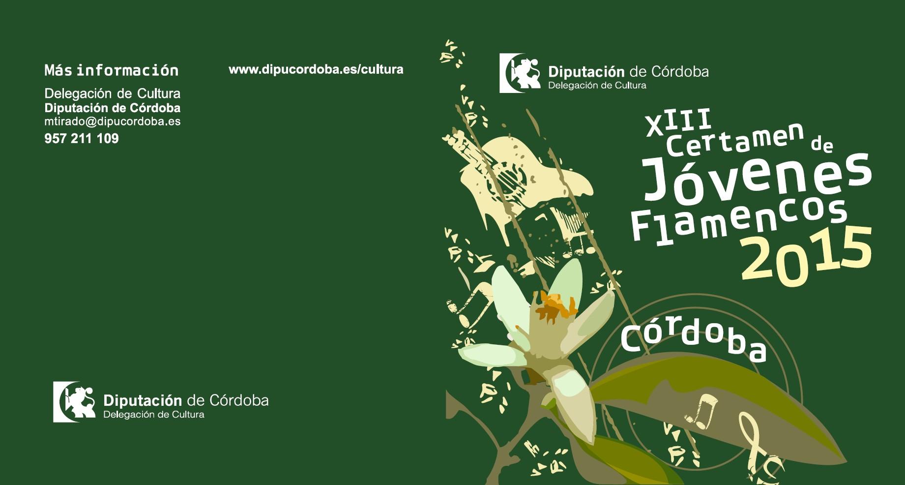 Pr ximos eventos xiii certamen de j venes flamencos 2015 for Inscripcion jardin 2015
