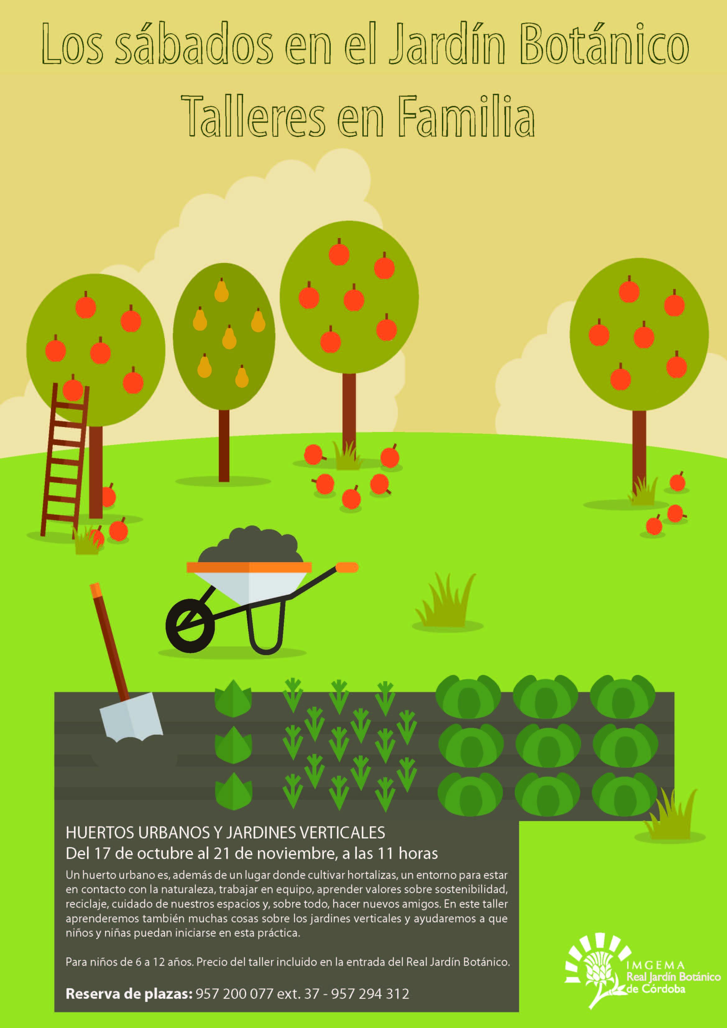 Pr ximos eventos jard n bot nico de c rdoba talleres for Actividades para jardin infantil