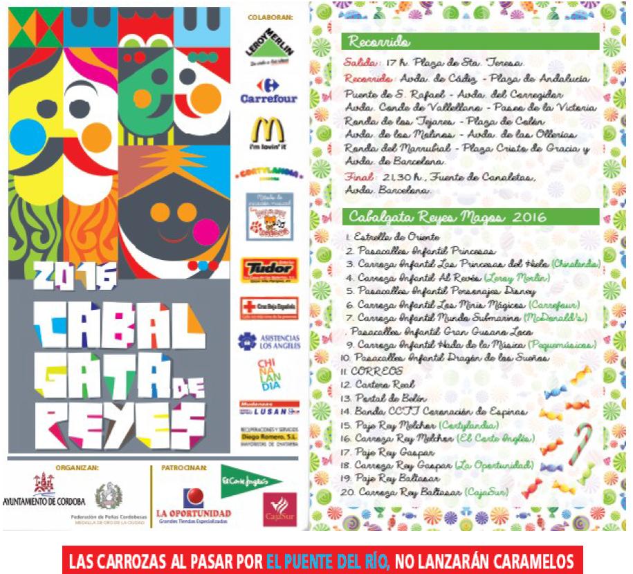 Pr ximos eventos cabalgata oficial de los reyes magos for Cabalgata ciudad jardin sevilla 2016