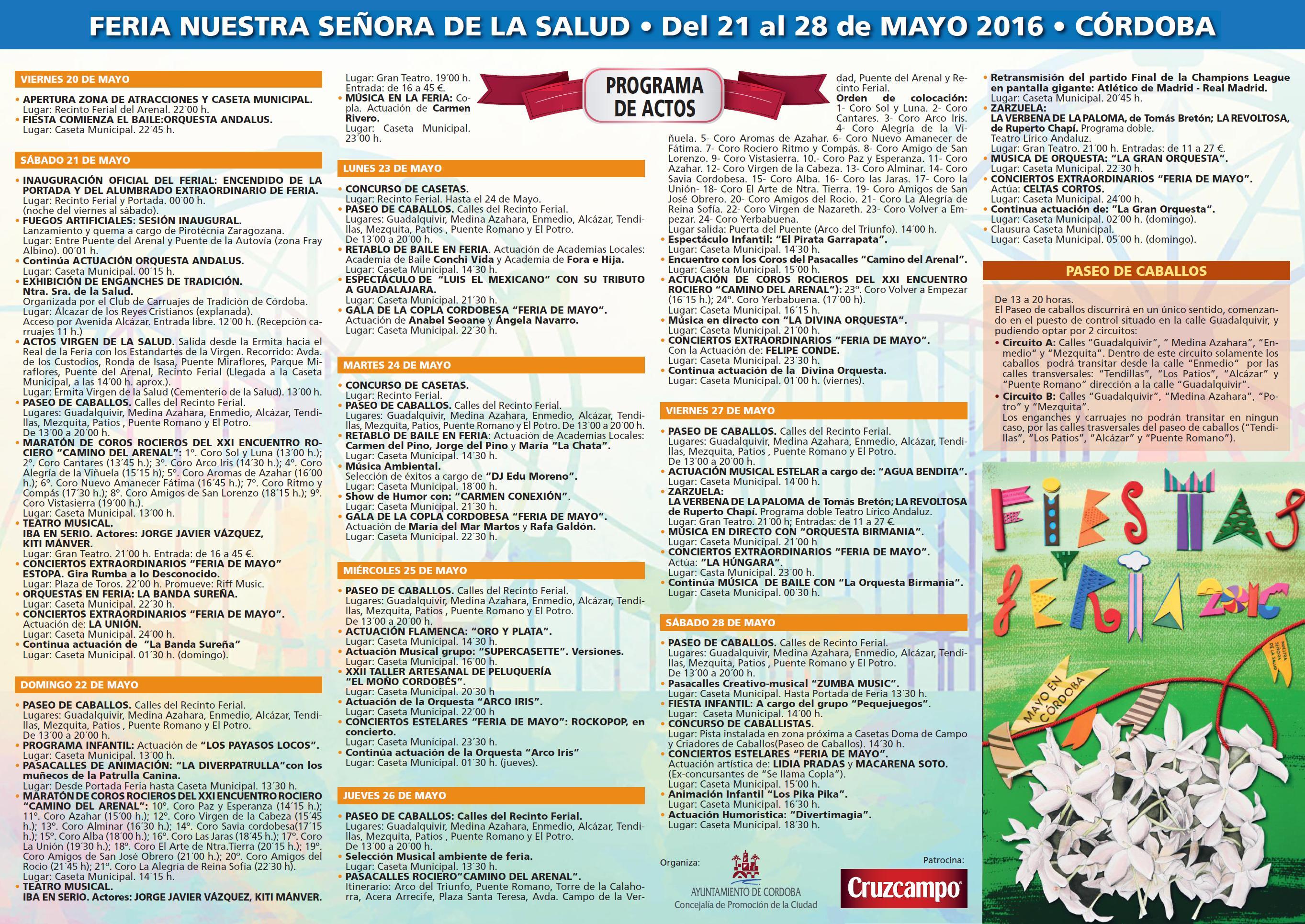 Pr ximos eventos feria de c rdoba 2016 nuestra se ora for Feria de artesanias cordoba 2016
