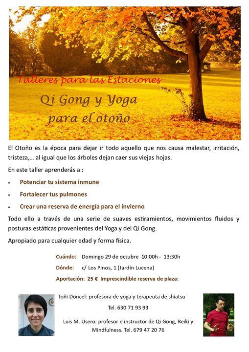 Próximos Eventos   Centro Dharma   Qi Gong y Yoga para el