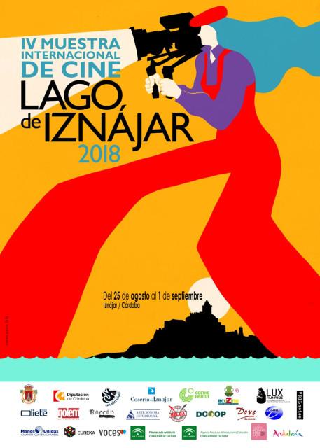 Cartel IV Muestra Internacional de Cine Lago de Iznajar