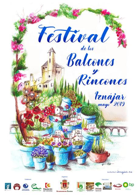 Cartel Festival de Balcones y Rincones Iznajar 2019_a
