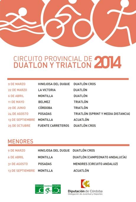 CartelDuatlonTriatlon2014