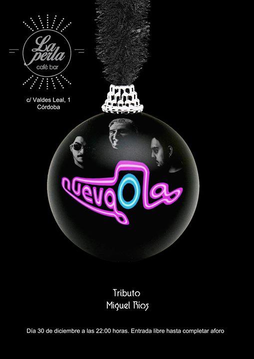 bordillo Escupir archivo  Próximos Eventos | La Perla Negra Café Bar | NuevaOla en concierto | SOY  CÓRDOBA