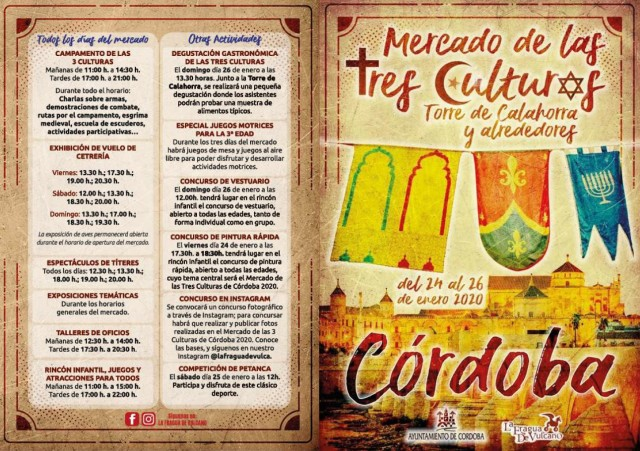 Mercado Medieval Córdoba 2020 - Mercado de las Tres Culturas - Programa_1