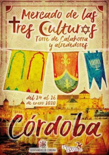 Mercado Medieval Córdoba 2020 - Mercado de las Tres Culturas - Programa_Portada